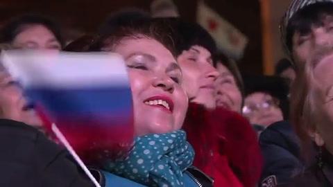 Putin celebra anexión de Crimea previo a elección