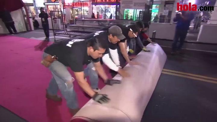 Hollywood despliega su más célebre alfombra para la gran noche del cine