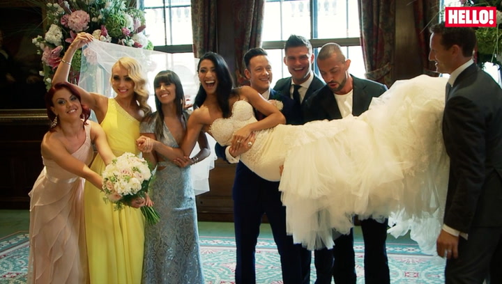 Exclusive: Step inside Strictly Come Dancing stars Kevin Clifton and Karen Hauer\'s beautiful wedding day