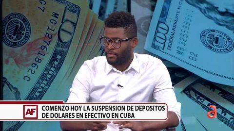 A partir de hoy no se pueden ingresar dólares en efectivo en el sistema bancario de Cuba