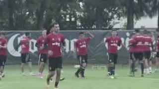 Rafa Márquez entrena de nuevo con Atlas