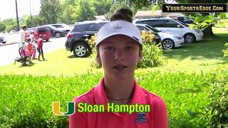 Hampton Has Her Goals in Sight