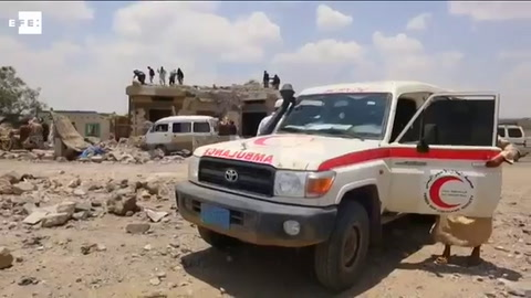 Más de medio centenar de muertos por bombardeos de la coalición árabe en Yemen