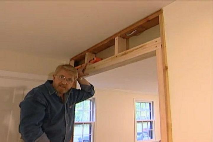 How To Widen A Doorway Ron Hazelton