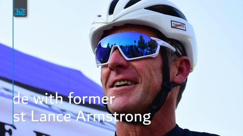Dubai rides along Lance Armstrong