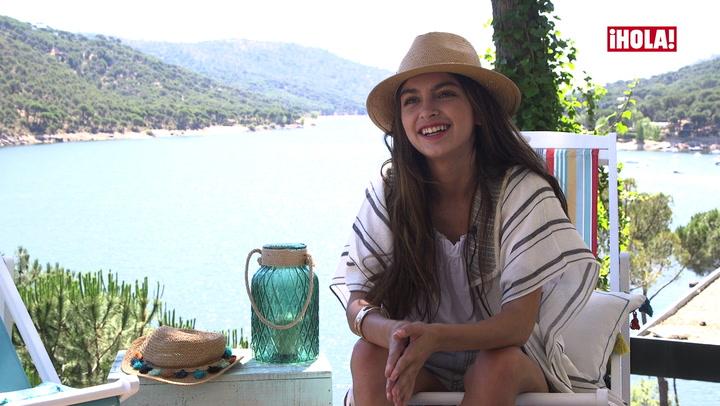 En ¡HOLA!, Lucía Rivera nos habla de la relación con su padre, Cayetano Rivera