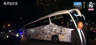 Así fue la llegada del Real Madrid a Kiev antes de la final de la Champions