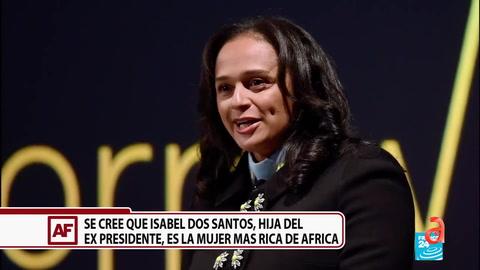 Se cree que Isabel Dos Santos, hija del ex presidente, es la mujer mas rica de Africa