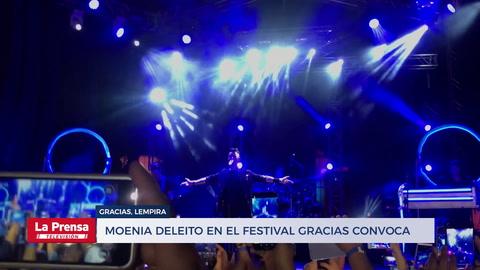 Moenia deleitó en el festival Gracias Convoca
