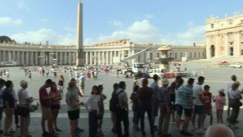 Sequía en Italia, el Vaticano apaga sus fuentes