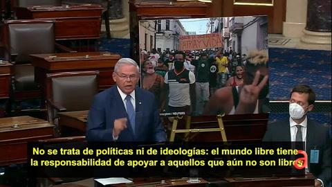 Cuba: Rubio y Menéndez logran importante paso en el Senado