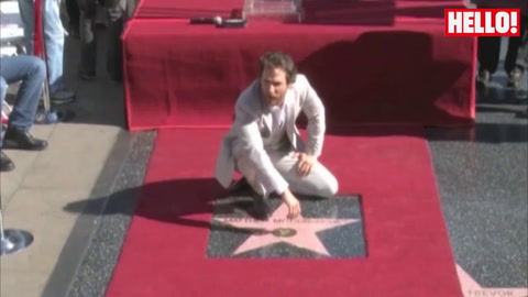 Matthew McConaughey receives the Hollywood Walk of Fame star