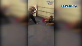Yaşlı adam, genç boksörü tek yumrukta yere böyle yıktı