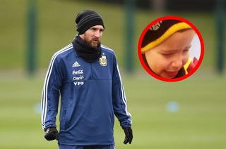 El pequeño hincha que lloró incansablemente por no ver a Messi