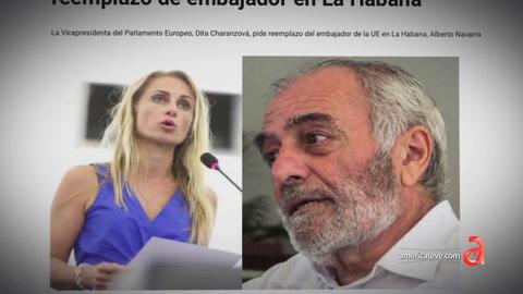Vicepresidenta del Parlamento Europeo pide reemplazo de embajador en La Habana tras decir que Cuba no es una dictadura