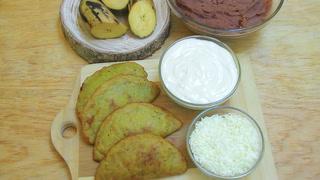 Cocinando con Mayte: Pastelitos de plátano rellenos con frijoles