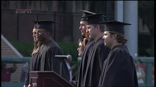 Florida State University holds commencement ceremony for student athletes