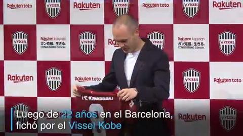 Japón, el nuevo hogar de Andrés Iniesta