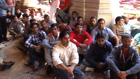 Profughi, nuova protesta in piazza