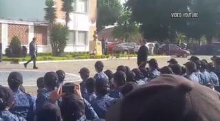 Colombia: Bus pasa por encima de guardia en entrenamiento del Inpec