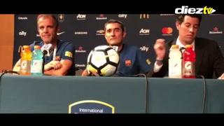 EXCLUSIVA: Valverde  sobre Choco Lozano: