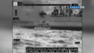 Mültecileri kurtarma operasyonu kameralara böyle yansıdı