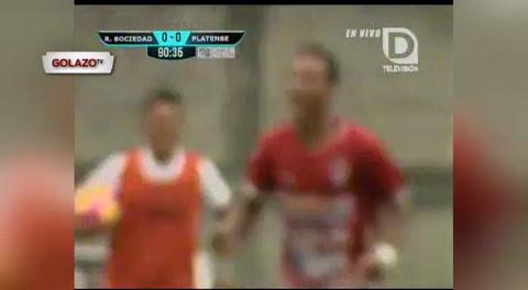 Real Sociedad 1 - 0 Platense (Liga Nacional de Honduras)