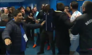 Rami en descontrol: Marsella vs Lyon termina en tremenda pelea