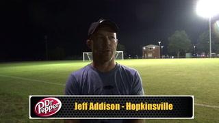 Addison Reviews Hopkinsville's Season Opening Win