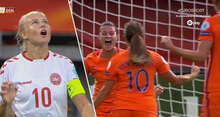 Highlights: Danmarks kvinder mødte den hollandske overmagt