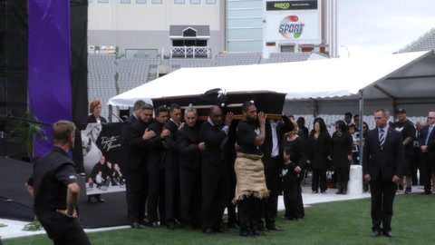 VIDEO -  Final goodbye to Jonah Lomu