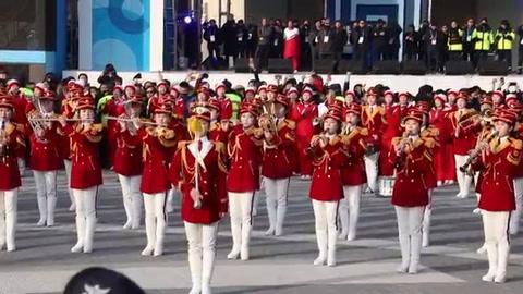 Las animadoras norcoreanas enloquecen a Pyeongchang
