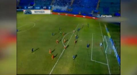 Gol de Rubilio Castillo al Vida (Liga Nacional 2018 )