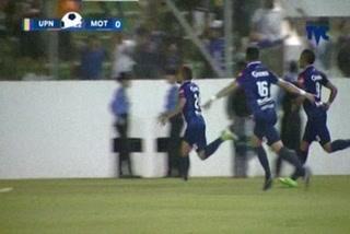 Motagua vence 1-0 a la UPNFM en Comayagua y se clasifica directo a semifinales del Apertura