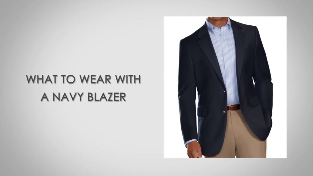 What to Wear with A Navy Blazer | Matching A Navy Blazer with ...