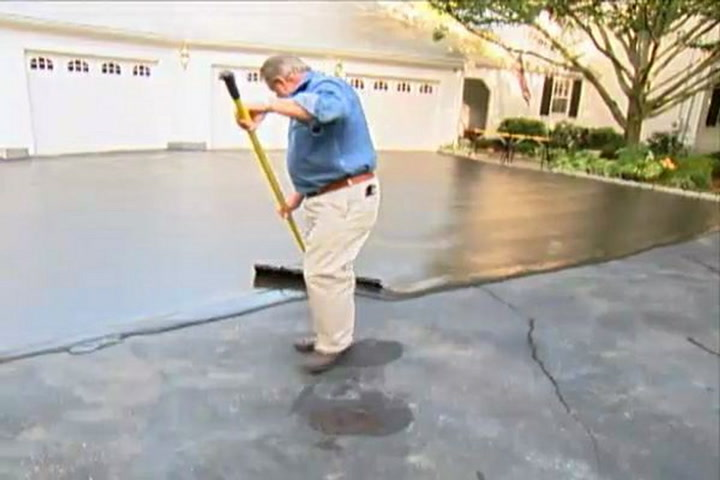 How to resurface a driveway diy projects videos solutioingenieria Gallery