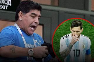 Maradona: ''No jodan más a Messi con lo de líder, él no tiene la culpa''