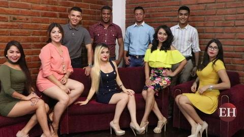 Jóvenes a disputarse la corona del Miss y Míster periodismo UNAH 2017