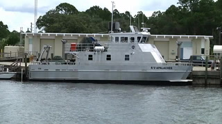 Research vessel sets sail on maiden cruise