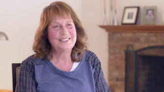 Shelly Levin talks about how she has benefited from targeted drug therapy for her breast cancer.