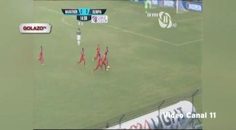 Marathón 3 - 2 Olimpia (Liga Nacional de Honduras)