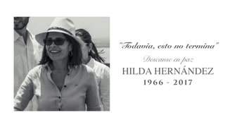 Gobierno: Emotivo homenaje en memoria de Hilda Hernández
