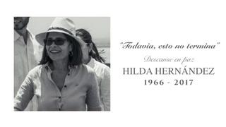 Gobierno: Emotivo homenaje en memoria de Hilda Hernández