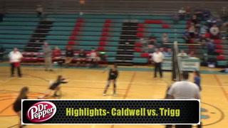 Highlights- Caldwell Volleyball vs. Trigg County
