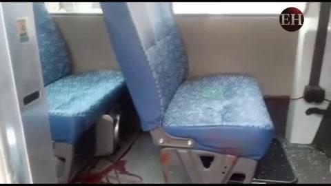 Conductor de autobús de la ruta El Sitio sufre atentado mientras almorzaba