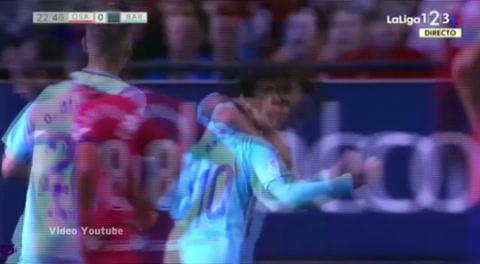 Osasuna 2 - 2 Barcelona B