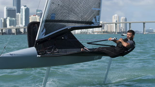Victor Díaz de León Dominates in an Extreme New Sailing Style