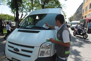 Guadalajara multa a vehículos oficiales