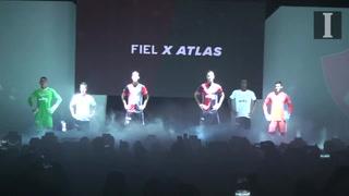 Atlas presenta su nueva playera
