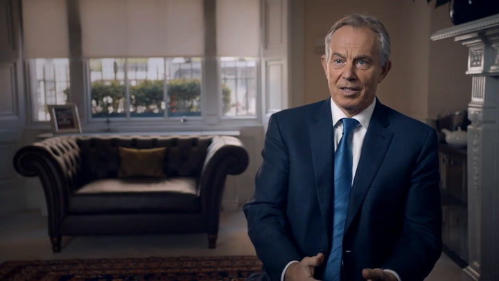 Tony Blair on the Queen being sad about Diana\'s death and the impact it had on Princes William and Harry
